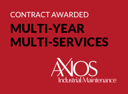 AXIOSIndustrial Awarded Multiyear, Multiservices Contract with Paper Supplier